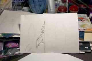 Half-Hull Sketch