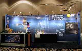 Our Booth at National Space Symposium