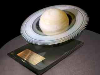 Saturn Glass Sculpture